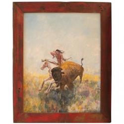 Buffalo Hunt - PRINT