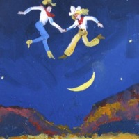 Dancing Over Moon