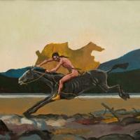 Buffalo Robe Rider